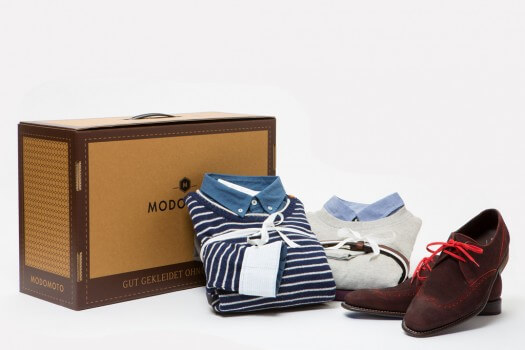 MODOMOTO liefert neue Outfits in der Box