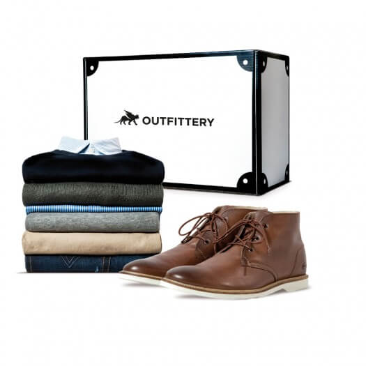OUTFITTERY packt eine komplette Box